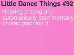 Dance things
