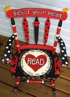 Reading theme rocker- want that in my classroom!