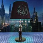 Yoda star wars movie props add ambient light and an air of elegance to your Star Wars room or any room in the house with this lightsaber table lamp. Based upon the famous lightsaber carried by the Jedi Master Yoda. #starwars, #lamps