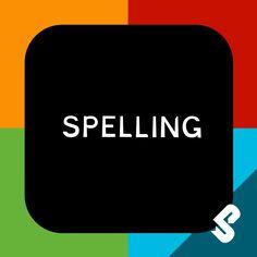 Web Design, Apps, Ipod Touch, Spelling App, Logos, School, Design Web, Logo, App