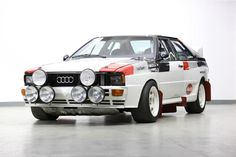 Audi Quattro A1 rally car //