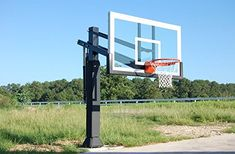 Amazon.com : Pro Dunk Gold With Rust Armor Best Selling Driveway Basketball  Goal Hoop