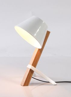 Table lamp with white or black bowl shade. Dimensions: 41cm H. Curious Grace $110