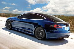 Tesla Model S with Unplugged Performance Body Kit