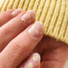 Cute Acrylic Nails, Cute Nails, Pretty Nails, Cute Simple Nails, Minimalist Nails, Simple Nail Designs, Nail Art Designs, Nails Design, Simple Nail Arts