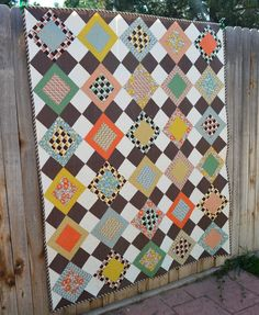 """I am so excited to get to share with you another one of those """"secret finises"""".  I actually finished this quilt back in September of 2014,..."""