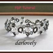 50% Off Black Diamond Crystal Bracelet  - via @Craftsy