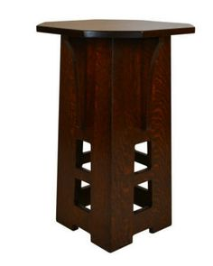 Arts & Crafts Reproduction Limbert Lamp Table Hand Crafted From www.CraftsmenStudio.com
