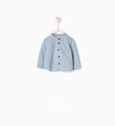 Striped shirt-Shirts & T-shirts-Mini (0-12 months)-KIDS | ZARA United States