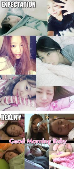 APink Expectation VS. Reality in The Morning