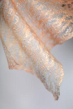cobweb felt -- tencel top FeltedPleasure / @Marina_Shkolnik