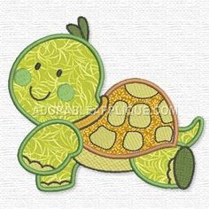 Free Embroidery Design:  Turtle
