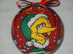 Sesame Street Kimekomi Ornament.  Gotta have one?  Go to www.craftcrazy4u....  $12.00