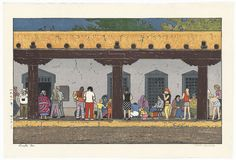 Santa Fe, 1971 by Toshi Yoshida (1911 - 1995)