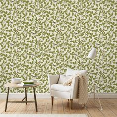 collection Brunnsnäs / Waldemar - green | SandbergWallpaper