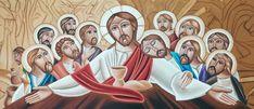 Imagen/fotografía católica de alta resolución etiquetada como: cristo,jesus,apostoles,ultima,cena,eucaristia. ¡Descárgala gratis en Cathopic!
