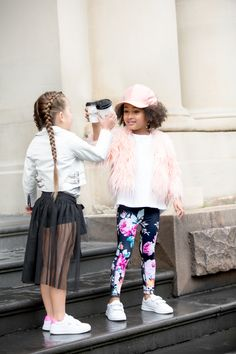 www.branche.com.au Spring 16 activewear campaign  A place where sport luxe meets feminine embellished day wear.   #kidsfashion #fashionkids #activewear #leggings #girlsactivewear #streetstyle #girlsclothing