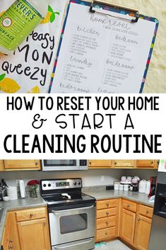 cleaning routine How to reset your home amp; start a cleaning routine. Having a tidy home saves my sanity as a stay at home mom. Here are my tips to reset your home back to square one and start a cleaning routine to keep it that way. Cleaning Plan, Deep Cleaning Tips, Toilet Cleaning, House Cleaning Tips, Cleaning Hacks, Cleaning Routines, Weekly Cleaning, Daily Cleaning Schedules, Spring Cleaning Tips