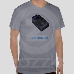 Guitar Distortion Pedal Black & Purple from Zazzle.com