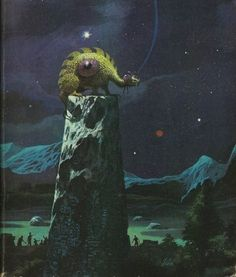 Paul Lehr cover art, via Arte Sci Fi, 70s Sci Fi Art, Japanese Monster, Environment Concept Art, Science Fiction Art, Retro Futurism, Cover Art, Illustrators, Fantasy Art