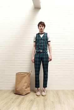 """Bangkok-based brand Boyplain unveiled the lookbook for its Spring/Summer 2015 collection titled """"Caffeinated"""".The collection takes inspiration from fun-loving vibes of ubiquitous coffee shops including all-encompassing stuff spanning from piles of vintage-tinged bakery drawings to tea-slash-coffee paraphernalia sketches, to name just a few"""