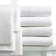 Linens Limited 100% Egyptian Cotton 400 Thread Count Extra Deep Fitted Sheet, White, Double