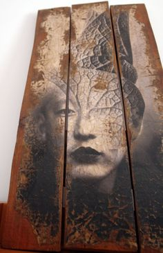 #Antonio Mora -  #Photo Collage on panel.If you are interested in purchasing works of Antonio Mora, send e-mail to pil4r@routetoart.com