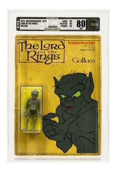 The Lord of the Ring action figures from 1978 - Gollum