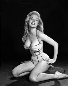 50s pin up goddess - Betty Brosmer - before nerds were hip ...