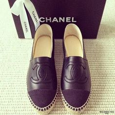 Chanel Shoes for Women New Collection | ... shoes 2015 fashion trends 2015 shoes chanel espadrilles shoes womens
