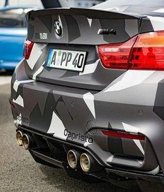 MPOWER/// BMW F82 M4 grey camo