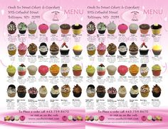 newest cupcake flavors | OOOh So Sweet Cakery and Cupcakery