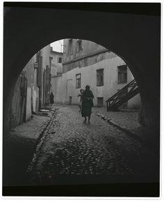 Lublin, Podzamcze Street, Roman Vishniac, 1938