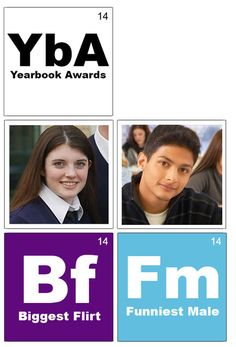 Yearbook Theme Ideas - Elements of the periodic table. Use the periodic table as either design and/or content inspiration. Create your own elements!