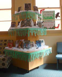 Halloween 2014 Library display