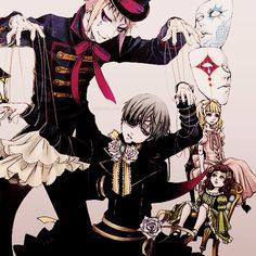 Drocell Puppetmaster Black Butler