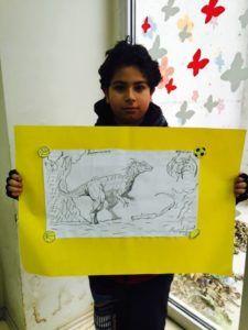 ابتدائى – Manara international School مدرسة المنارة مشروع العلوم للهيكل العظمى للديناصور لطلاب الصف الخامس الابتدائى - مدرسة المنارة باسطنبول