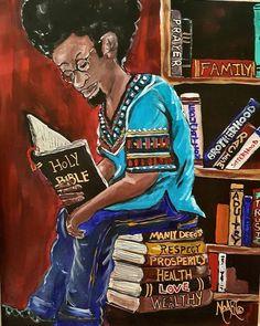 Thoughts & Musings — Good morning 💜                 Sunday Blessings 😊 Black Couple Art, Black Love Art, Black Girl Art, African American Artwork, African Art, African Americans, Native Americans, Beauty In Art, Black Art Pictures