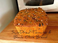 Picture of Sun-dried Tomatoes & Black Olive Bread