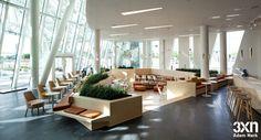 Wonderful Design by 3XN in  Bella Sky Hotel