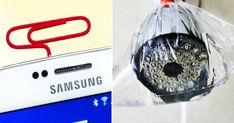 Znajdzie się coś na bałagan w łazience czy problem z telefonem ;) Samsung