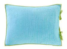 Dawn Aqua Lime Standard Pillow Sham