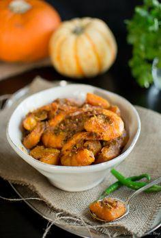 21. Pumpkin and Prawns Curry #healthy #pumpkin #recipes http://greatist.com/health/awesome-weird-healthy-recipes-canned-pumpkin