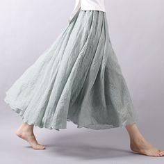 Купить товар2016 женщины лето юбка белье хлопок старинные длинные юбки эластичный пояс плиссированные юбки макси пляж Boho юбки Faldas Saia в категории Юбкина AliExpress.             Название продукта:                                    2016 женщин летние юбки белье хлопок Vintagee длинные