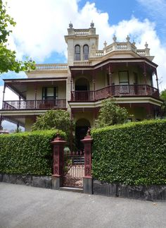 Phryne Fisher's house, really in Parkville.