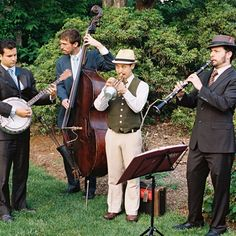 Old time bands | Old-Time Jazz Wedding Band