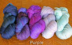 Vector Kit. Purples. Tanis Fiber Arts, Yarn Inspiration, Sock Yarn, Hand Dyed Yarn, Vector Pattern, Yarns, Therapy, Kit, Knitting