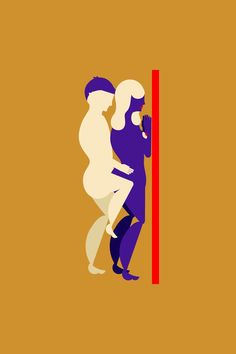 Standing Sex Positions & Tips For An Adventurous Hookup Fun Couple Activities, Sex Quotes, Happy Together, Sex And Love, Illustration, Positivity, Adventure, Feelings, Life