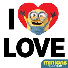 I <3 Love. Happy Valentine's Day! | Minions Movie | In Theaters July 10th