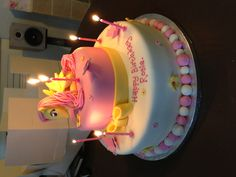 Fluttershy birthday cake MLP